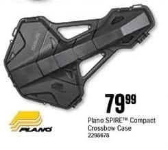 Bass Pro Shops Black Friday: Plano SPIRE Compact Crossbow Case for $79.99