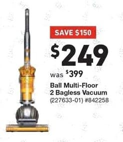 Lowe's Black Friday: Dyson Ball Multi Floor 2 Bagless Upright Vacuum for $249.00