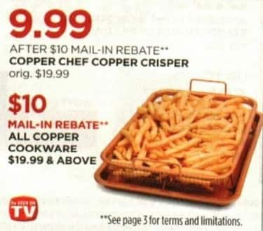 JCPenney Cyber Monday: All Copper Cookware Priced $19.99 & Higher - $10 MIR