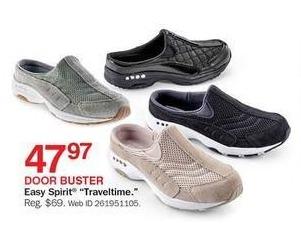Bon-Ton Black Friday: Easy Spirit Traveltime Shoes for $47.97