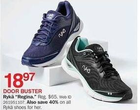 Bon-Ton Black Friday: Ryka Regina Shoes for Her for $18.97