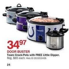 Bon-Ton Black Friday: Team Crock-Pots w/ Little Dipper for $34.97