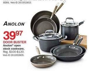 Bon-Ton Black Friday: Anolon Open Stock Cookware for $39.97