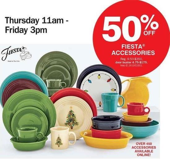 Bon-Ton Black Friday: Fiesta Accessories - 50% Off