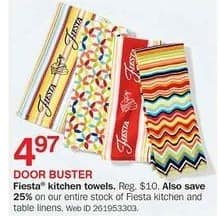 Bon-Ton Black Friday: Fiesta Kitchen Towels for $4.97