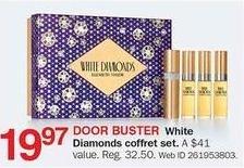 Bon-Ton Black Friday: White Diamonds Coffret Set for $19.97