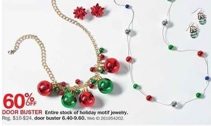Bon-Ton Black Friday: Holiday Motif Jewelry - 60% Off