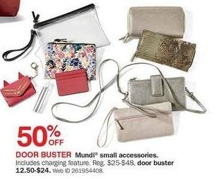 Bon-Ton Black Friday: Mundi Small Accessories - 50% Off
