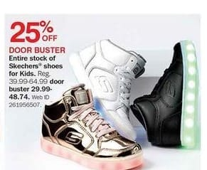 Bon-Ton Black Friday: Entire Stock of Skechers Shoes for Kids - 25% Off