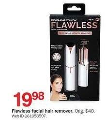 Bon-Ton Black Friday: Finishing Touch Flawless Facial Hair Remover for $19.98