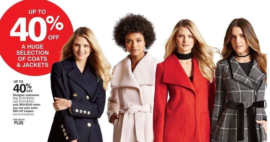 Bon-Ton Black Friday: Designer Outerwear for Her - Up to 40% Off