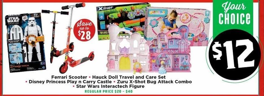H-E-B Black Friday: Disney Princess Play 'N Carry Castle for $12.00