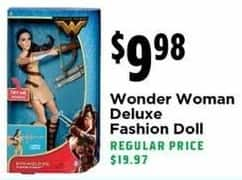 H-E-B Black Friday: Wonder Woman Deluxe Fashion Doll for $9.98