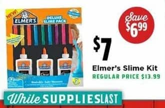 H-E-B Black Friday: Elmer's Slime Kit for $7.00