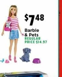 H-E-B Black Friday: Barbie & Pets for $7.48