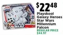 H-E-B Black Friday: Playskool Galaxy Heroes Star Wars Millennium Falcon for $22.48