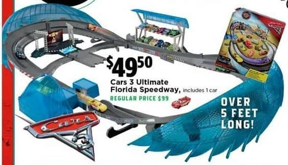 H-E-B Black Friday: Cars 3 Ultimate Florida Speedway for $49.50