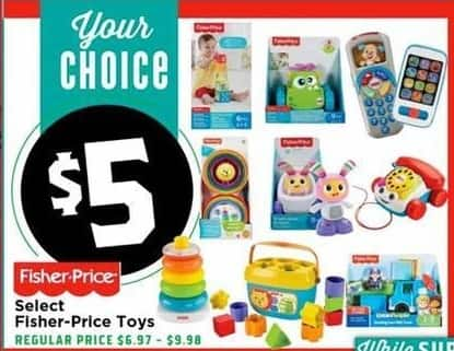 H-E-B Black Friday: Select Fisher-Price Toys for $5.00