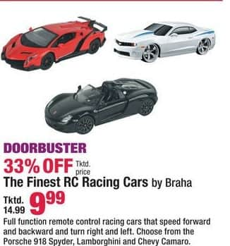 Boscov's Black Friday: The Finest Braha RC Racing Cars for $9.99