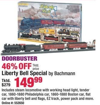Boscov's Black Friday: Liberty Bell Special Train Set for $149.99