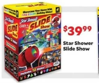 Academy Sports + Outdoors Black Friday: Star Shower Slide Show for $39.99