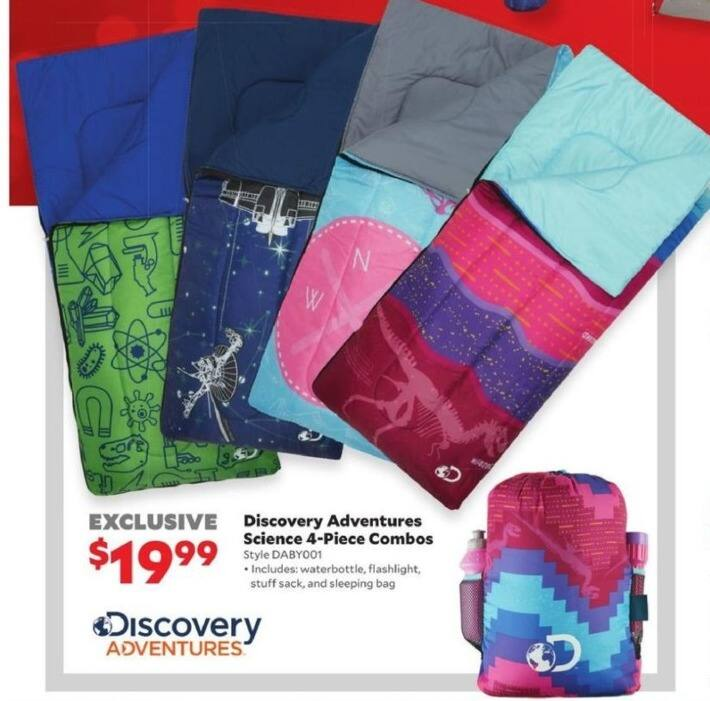 Academy Sports + Outdoors Black Friday: Discovery Adventure Sleeping Bag Combos for $19.99