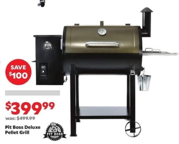 Academy Sports + Outdoors Black Friday: Pit Boss Deluxe Pellet Grill for $399.99