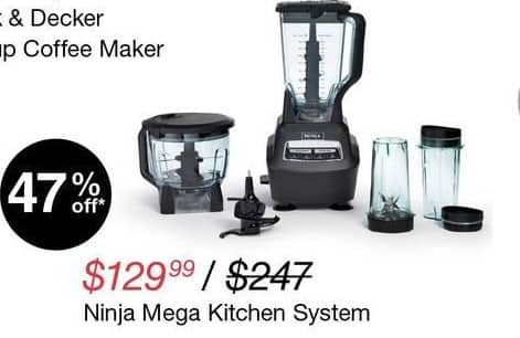 Overstock Black Friday: Ninja Blender Mega Kitchen System for $129.99