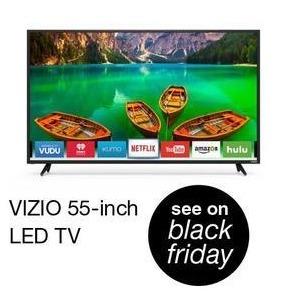 "Overstock Black Friday: 55"" Vizio Smart LED TV - TBA"
