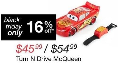 Overstock Black Friday: Cars Turn N Drive McQueen for $45.99