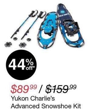 Overstock Black Friday: Yukon Charlie's Advanced Snowshoe