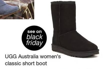 Overstock Black Friday: Ugg Australia Women's Classic Short Boot - TBA