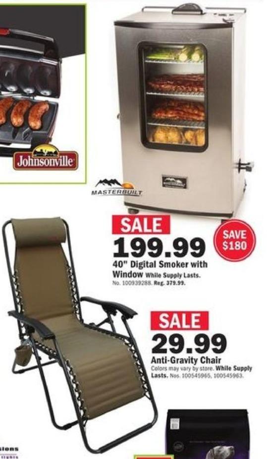 Mills Fleet Farm Black Friday: Anti Gravity Chair for $29.99