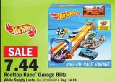 Mills Fleet Farm Black Friday: Hot Wheels Rooftop Race Garage Blitz for $7.44