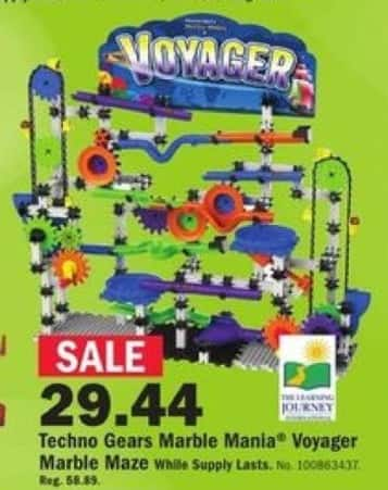 Mills Fleet Farm Black Friday: The Learning Journey Techno Gears Marble Mania Maze for $29.44