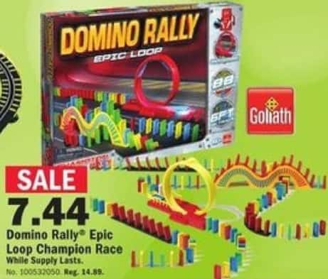 Mills Fleet Farm Black Friday: Goliath Domino Rally Epic Loop for $7.44