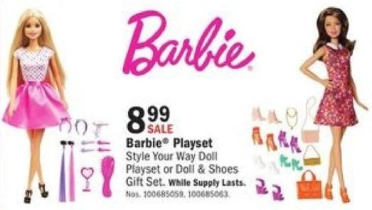 Mills Fleet Farm Black Friday: Barbie Playset for $8.99