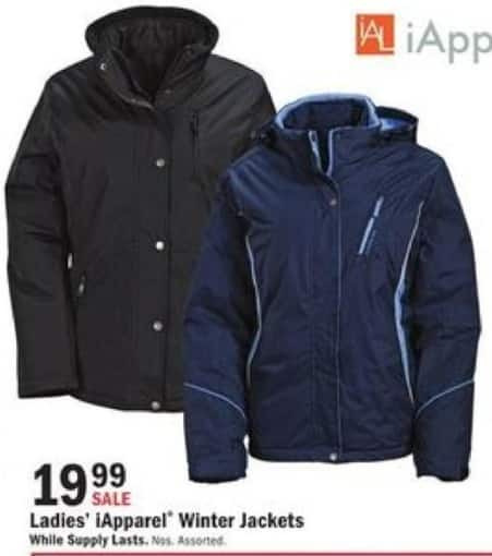 Mills Fleet Farm Black Friday: iApparel Winter Jackets for Women for $19.99