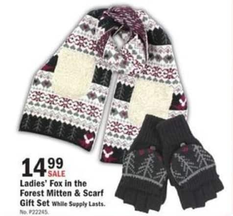 Mills Fleet Farm Black Friday: Fox In The Forest Mitten & Glove Gift Set for $14.99