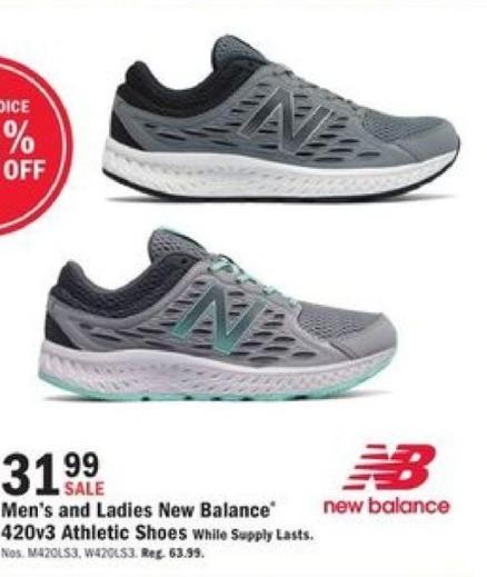Mills Fleet Farm Black Friday: New Balance 420v3 Athletic Shoes for $31.99
