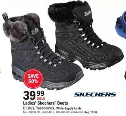 Mills Fleet Farm Black Friday: Skechers Boots for Women for $39.99