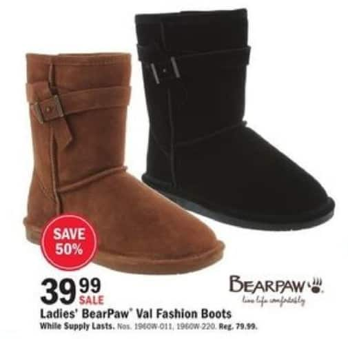Mills Fleet Farm Black Friday: BearPaw Val Fashion Boots for $39.99