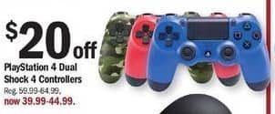 Meijer Black Friday: PS4 Dual Shock 4 Controllers for $39.99 - $44.99