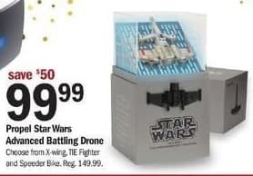 Meijer Black Friday: Propel Star Wars Advanced Battling Drone for $99.99