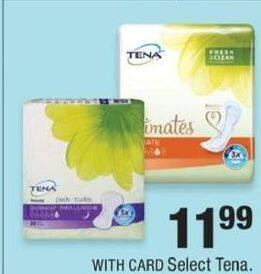 CVS Black Friday: Select Tena Products for $11.99