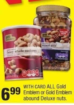 CVS Black Friday: Gold Emblem Nuts for $6.99