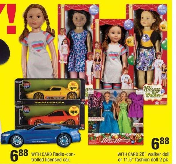 CVS Black Friday: Radio Controlled Cars or Fashion Dolls for $6.88