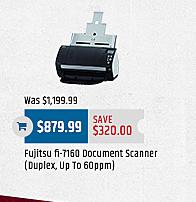 MacMall Black Friday: Fujitsu fi-7160 Document Scanner for $879.99