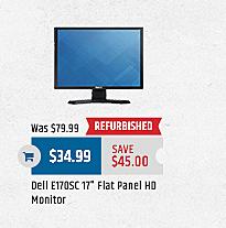 "MacMall Black Friday: Dell E170SC 17"" Monitor for $34.99"