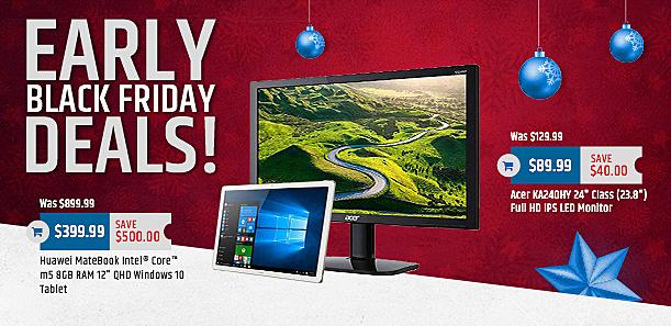 "MacMall Black Friday: Acer KA240HY 24"" LED Monitor for $89.99"